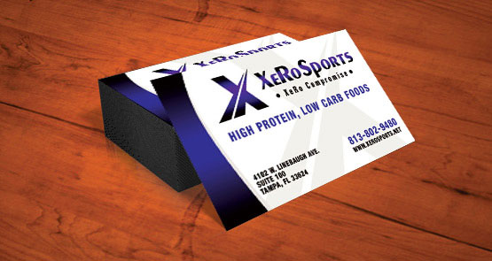Print business cards cocoa florida printing and design xero sports business card design colourmoves Image collections